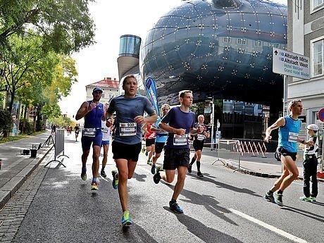 Läufer des Graz Marathon