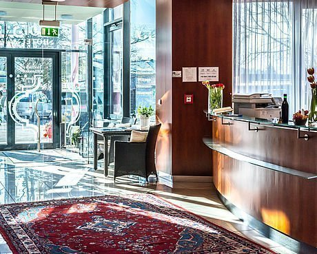 Eingangsbereich im Hotel Stoiser Graz
