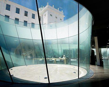 Modernes Design im Joanneumsviertel in Graz