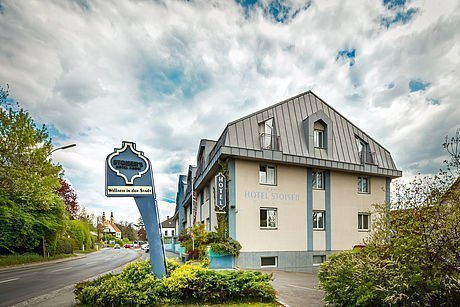 Das Stadthotel Stoiser Graz von außen