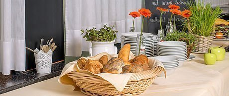 Ausgewogenes Frühstücksbuffet im Hotel Stoiser Graz