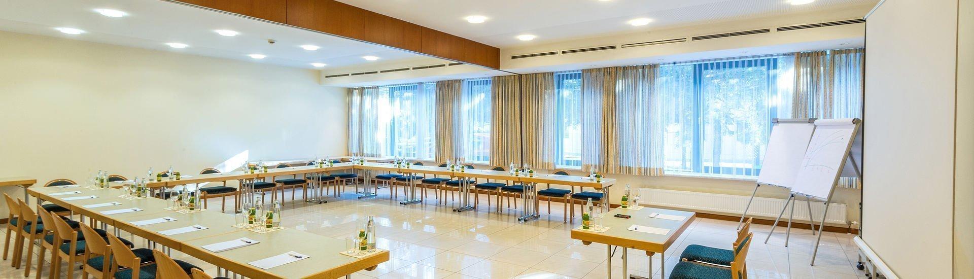 Panorama des Seminarraums im Hotel Stoiser Graz