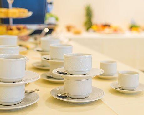 Kaffee beim Seminar im Hotel Stoiser Graz