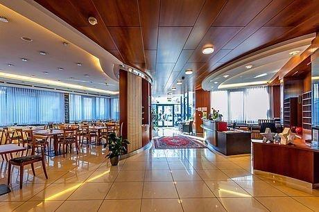 Lobby und Eingangsbereich im Hotel Stoiser Graz