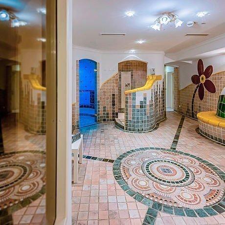 Wellnessbereich mit Sauna im Hotel Stoiser Graz
